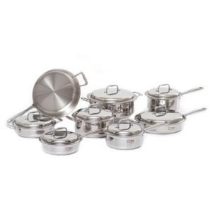 15 Piece Stainless Steel Cookware Set 1