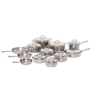 21 Piece Stainless Steel Cookware Set 1