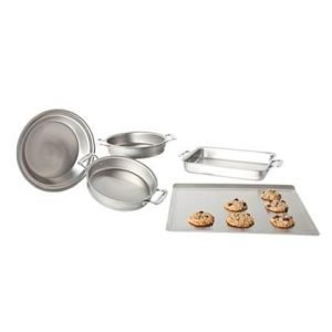 5 Piece Stainless Steel Bakeware Set 1