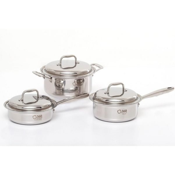 6 Piece Stainless Steel Cookware Set 2