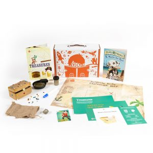 Surprise Ride Paint a Pirates Chest Activity Kit