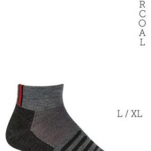 dahlgren made in usa ultra light trail alpaca socks men socks dg charcoal grey with orange large 562344 large