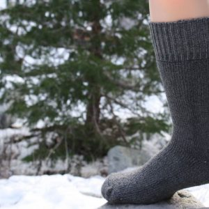 superwarm socks gray