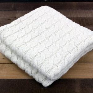 usa grown big cable alpaca blanket blankets neafp white 254121 large