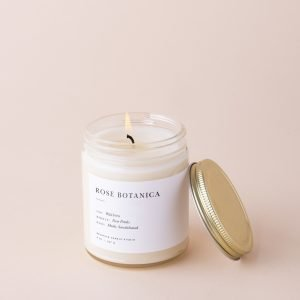 rose botanica minimalist candle brooklyn candle studio 331358