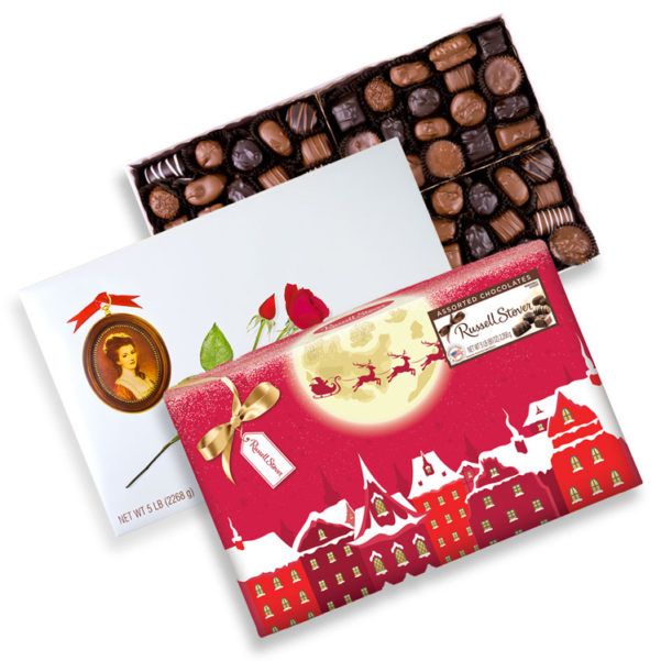 Assorted Chocolates 5 lb Box made in usa