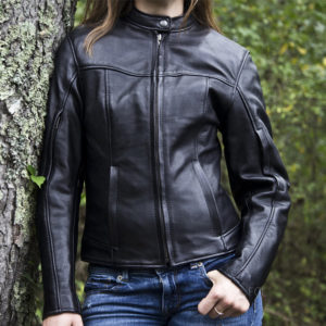 Womens Cruiser Motorcycle Jacket american made
