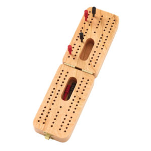 Folding Standard Cribbage Board Made in USA 11