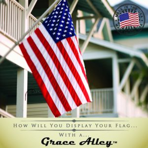 Grace Alley American Flag and Pole kit Made in the USA 6