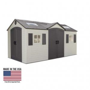 Outdoor Storage Dual Entry Shed 111