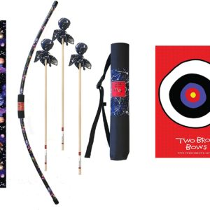 Two Bros Bows Archery Combo Set for Kids Made in the USA 1