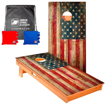 ACA Official Cornhole Boards Bags Set American Made