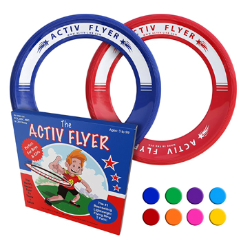 Activ Life Kids Flying Rings 2 Pack Made in USA