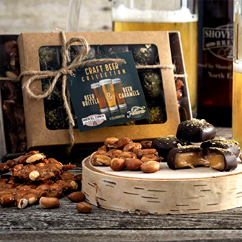 Beer Brittle Caramel Chocolates Made in USA