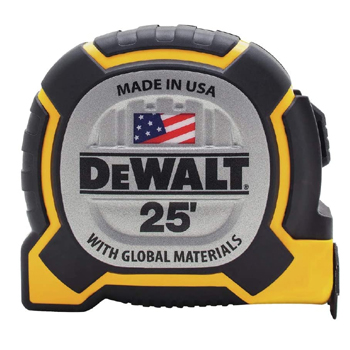Dewalt 25 FT Tape Measure Made in USA