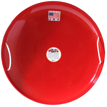 Flexible Flyer Metal Snow Disc Saucer Sled American Made