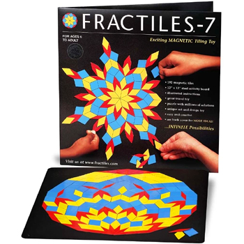 Fractiles Magnetic Tiles Toy American Made