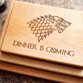 Game of Thrones Cutting Board American Made