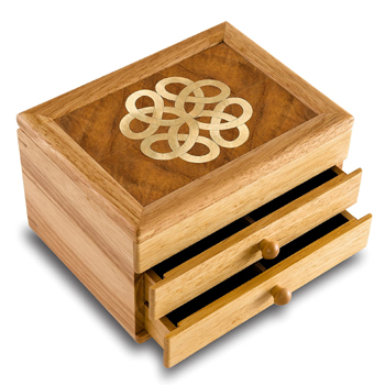 Handcrafted Celtic Jewelry Box American Made