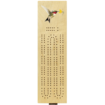 Hummingbird Cribbage Board American Made