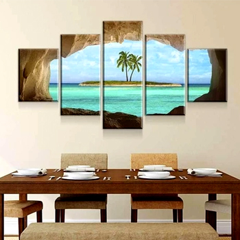 Island Cave Canvas Set Made in the USA