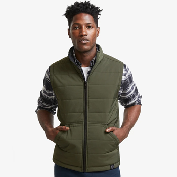 Mens Blizzard Full Zip Vest Made in USA