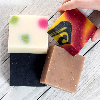 Natural Organic Assorted Handmade Soap 4ct Made in USA