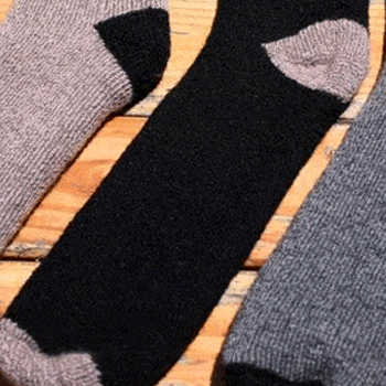 Outdoor Adventure Unisex Alpaca Socks American Made