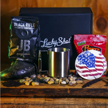 Personalized Black Rifle Cup Of Joe Gift Set Made In USA