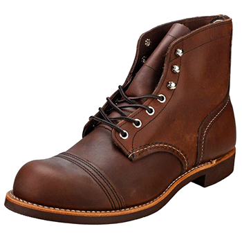 Red Wing Mens Iron Ranger Boots Made in USA
