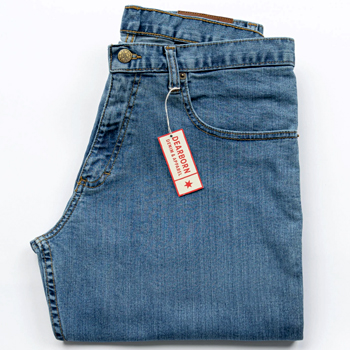 Relaxed Fit Mens Denim Jeans Made in USA
