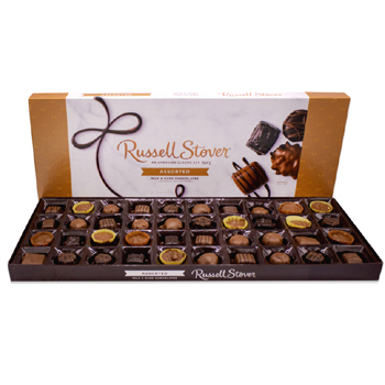 Russell Stover Assorted Chocolates Big Box 23 Ounce Top 50 American Made Gifts 2020