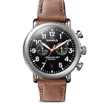 Shinola Quartz Movement Mens Watch Made in USA