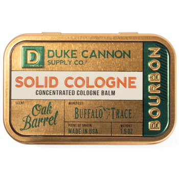 Solid Concentrated Cologne Balm Made in USA