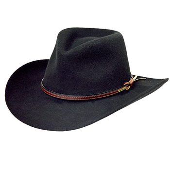 Stetson Mens Bozeman Wool Felt Cowboy Hat Made in USA