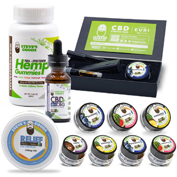 Steves Signature CBD Mega Starter Pack Made in USA