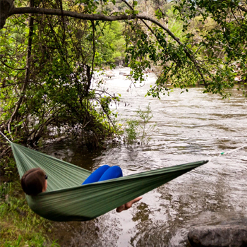 Ultralight Large Single Hammock American Made