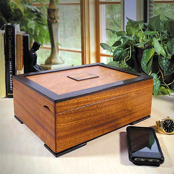 Urban Craftsman Hardwood Mens Valet Made in USA