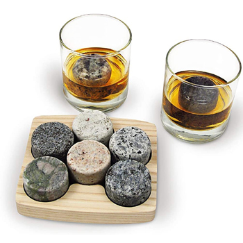 Whiskey Chilling Stones 9 Piece Set American Made