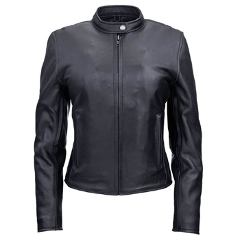 Womens Summer Riding Leather Jacket Made in USA