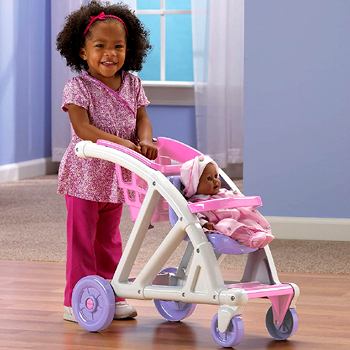 American Plastic Toys Shop with Me Stroller American Made