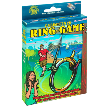 Cabin Fever Ring on a String Game American Made