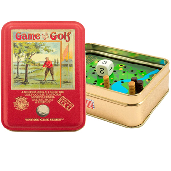 Game of Golf Vintage Tin American Made