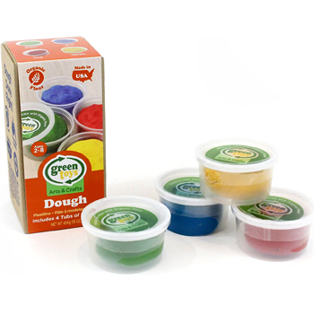 Green Toys Dough 4 Pack Activity Set Multi 1 EA American Made