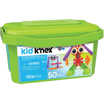 Kid KNEX Budding Builders Building Set 100 Pieces – American Made