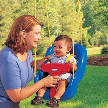 Little Tikes 2 in 1 Snug N Secure Grow With Me Swing American Made