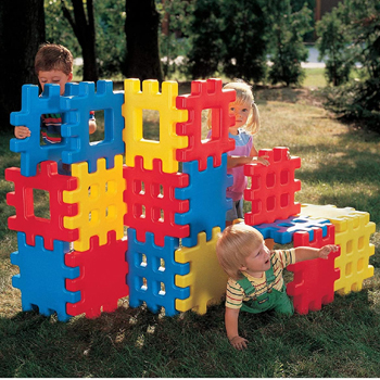 Little Tikes Big Waffle Block Set 18 pieces American Made
