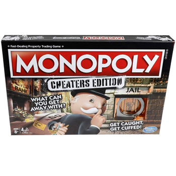 Monopoly Game Cheaters Edition American Made