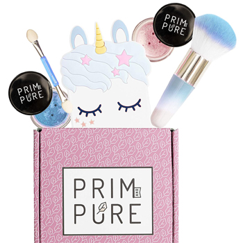 Prim and Pure Mineral Gift Set with Unicorn Mirror American Made
