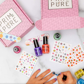 Prim and Pure Nail Polish Set Made for Kids American Made